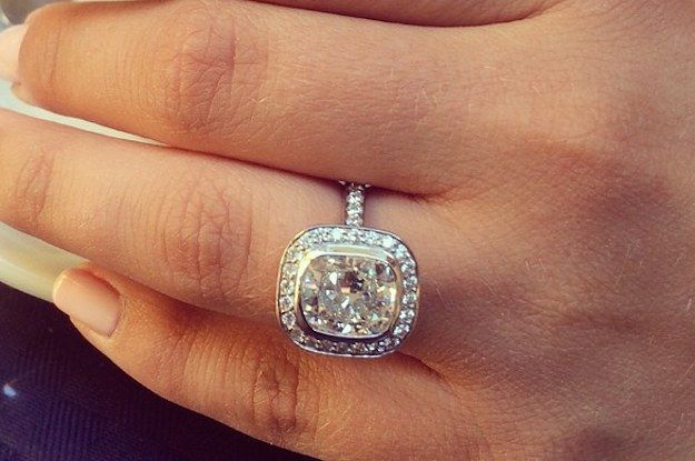 Stone Fox Bride , a bridal store in New York City, has been using its Instagram to gather photos of beautiful engagement rings and the proposal stories behind their owners.