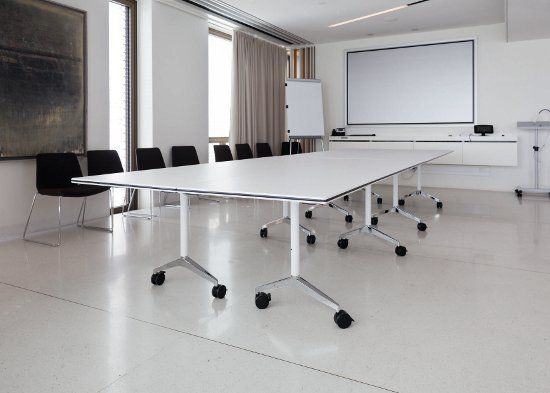 timetable mobile conference table designer andreas striko specialist for multipurpose interiors by