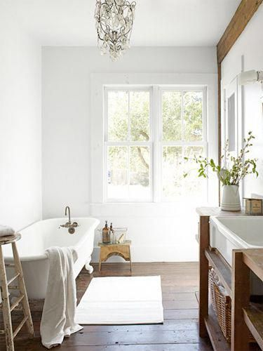 bathroom decorating and design ideas country bathroom decor rh pinterest com Bathroom Country Home Ideas Country Bathroom Decorating Ideas