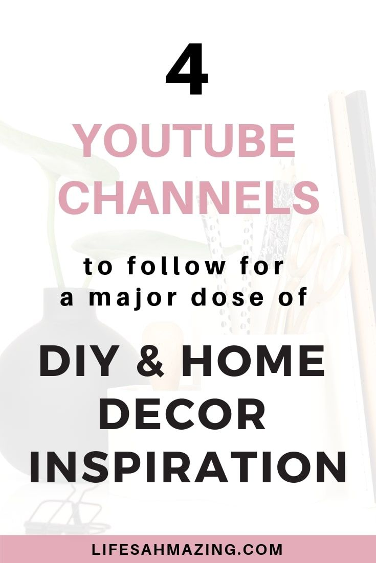 23 DIY and Home Decor YouTube Channels to follow in 23  Home