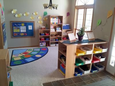 NICE corner rug!    - Bright Beginnings Childcare Daycare