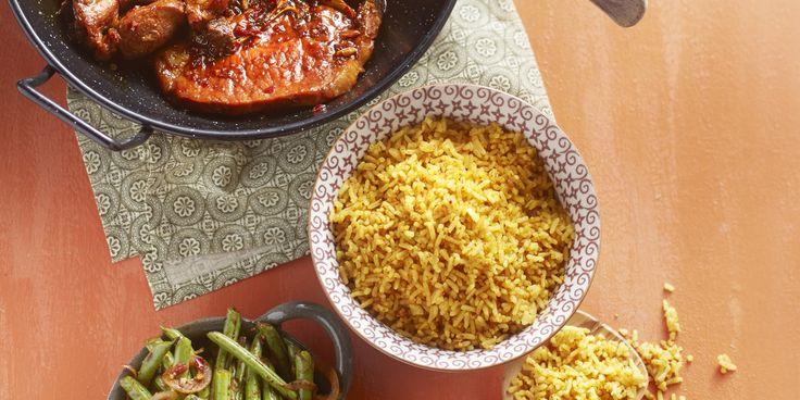 Boodschappen - Ketjapkarbonades met nasi en sambalboontjes