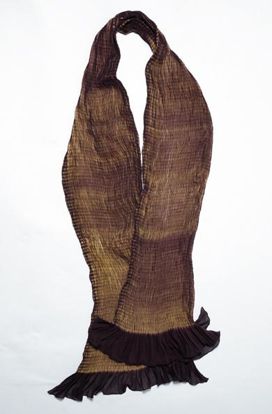 Automne Hiver 2010, Scarf 08–09 900/A07408 Shibori Silk Scarf