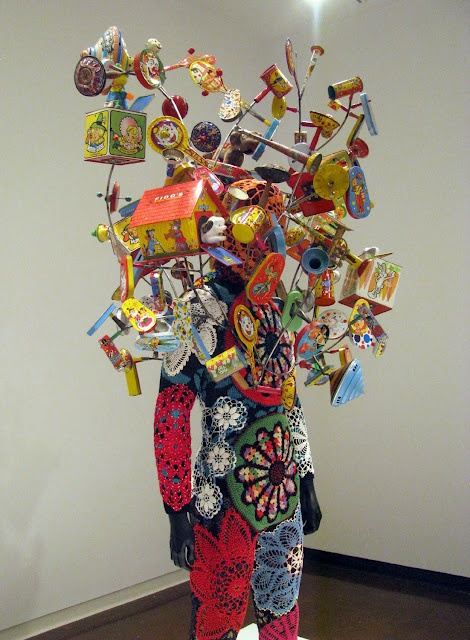 nick cave at Denver Art Museum.   Remember, little guy?