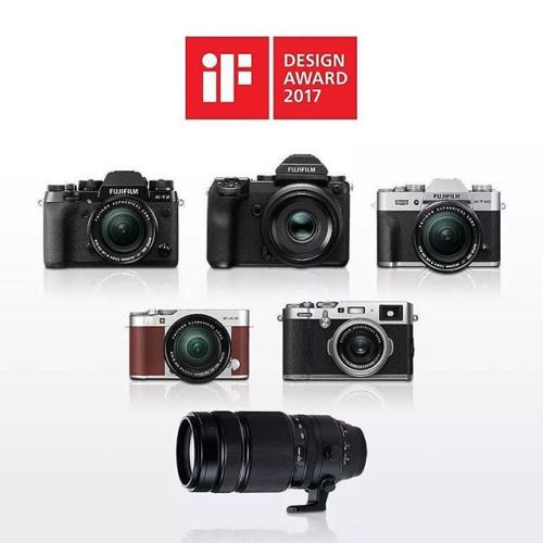 Вы обращали внимание что камерам Х серии часто делают комплименты отмечая великолепный дизайн? FUJIFILM ежегодно получает награды за вклад промышленного дизайна. Сегодня отличные новости! Компания Fujifilm установила рекорд получив 14 наград в престижной международной премии по дизайну iF Design Award 2017! Среди них 8 наград получили продукты подразделения цифрового фото -Fujifilm GFX -Fujifilm X-T2 -Fujifilm X100F -Fujifilm X-T20 -Fujifilm X-A3 -Fujifilm X-E2s -Fujinon XF100-400 -Fujifilm…