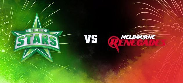 Melbourne Stars vs Melbourne Renegades Highlights 20 December 2013