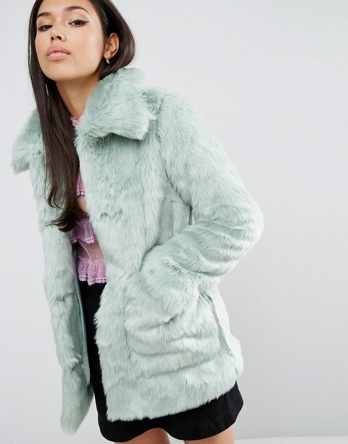 Bundle up in a chic and cozy coat for the cold season.