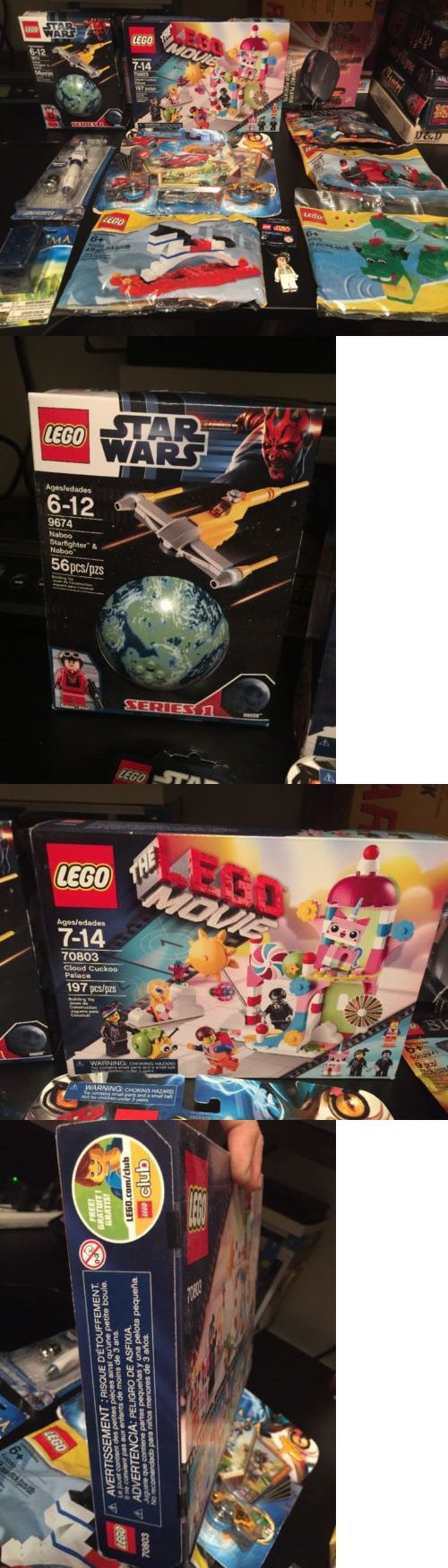Bricks and Building Pieces 183448: New Sealed Lego Movie Star Wars Mixed Lot Chima Bionicle Bags Pen Keychain 100$+ -> BUY IT NOW ONLY: $54.99 on eBay!
