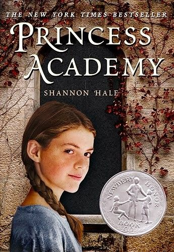 """Princess Academy -- a tale """"about families, relationships, education, and the place we call home"""" -- Newbery Honor Book"""