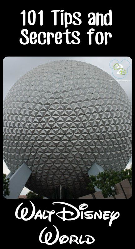 101 Tips and Secrets for Walt Disney World