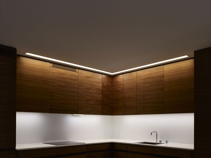 Kitchen lighting by Orbium at Ture 8 in Stockholm. #lighting #led #design #ture8 #tureno8 #orbium