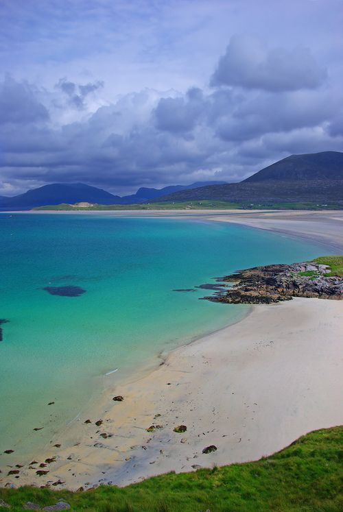 Hebrides | Scotland (by Reinhard Pantke)   - Isle of Harris is joined to the Isle of Lewis and is the second island down the Outer Hebrides chain of islands.
