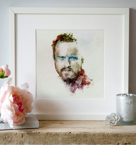 Jesse Pinkman Aaron Paul Breaking Bad Watercolor by Artsyndrome