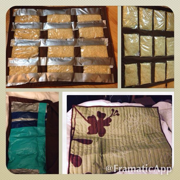 No Sew Weighted Blanket Fill Bags With 1 1 5 Cups Rice