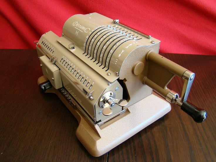 FELIKS mechanical calculator