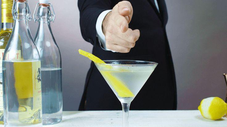 James Bond's Favorite Vesper Martini