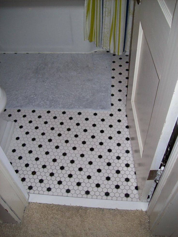 black and white hexagon tile floor. interesting white black and white hexagon bathroom floor tile intended and m