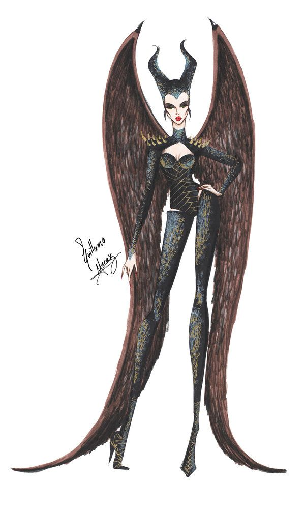 Maleficent's Wings by frozen-winter-prince.deviantart.com on @deviantART: