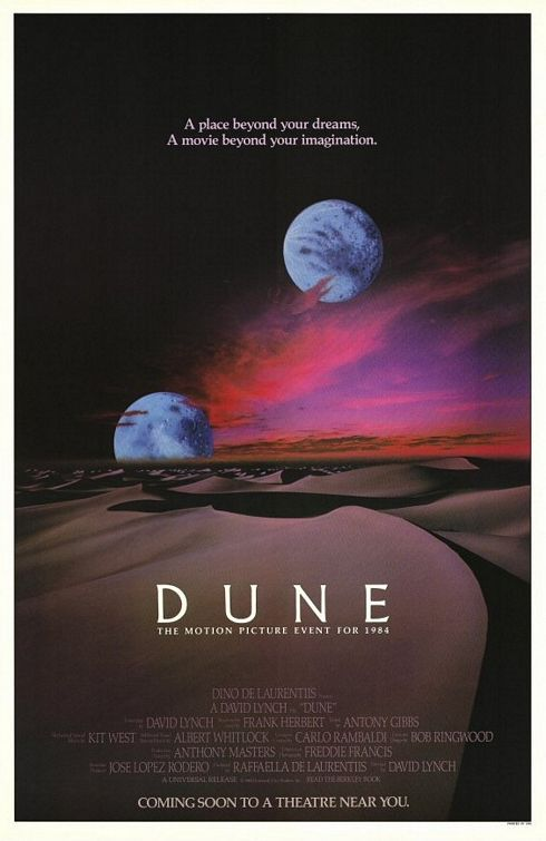 Dune (1984 movie) | Frank Herbert [novels] David Lynch [film]