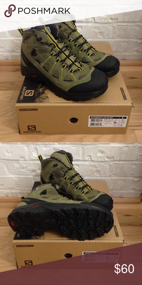 New Solomon authentic ltr cs wp boot. These hiking boots are brand new in their original box. They are waterproof with clima shield. Salomon Shoes Boots