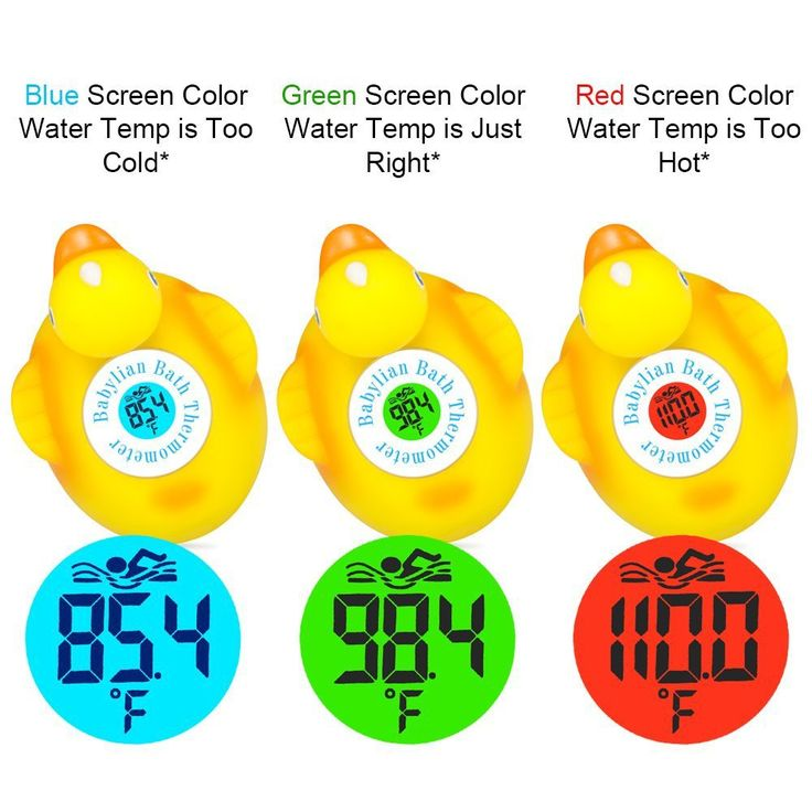 this rubber duck measures water temperature for your baby's bath. Perfect gift for your pregnant friend or mom boss - this babylian bath thermometer is perfct baby shower gift or something