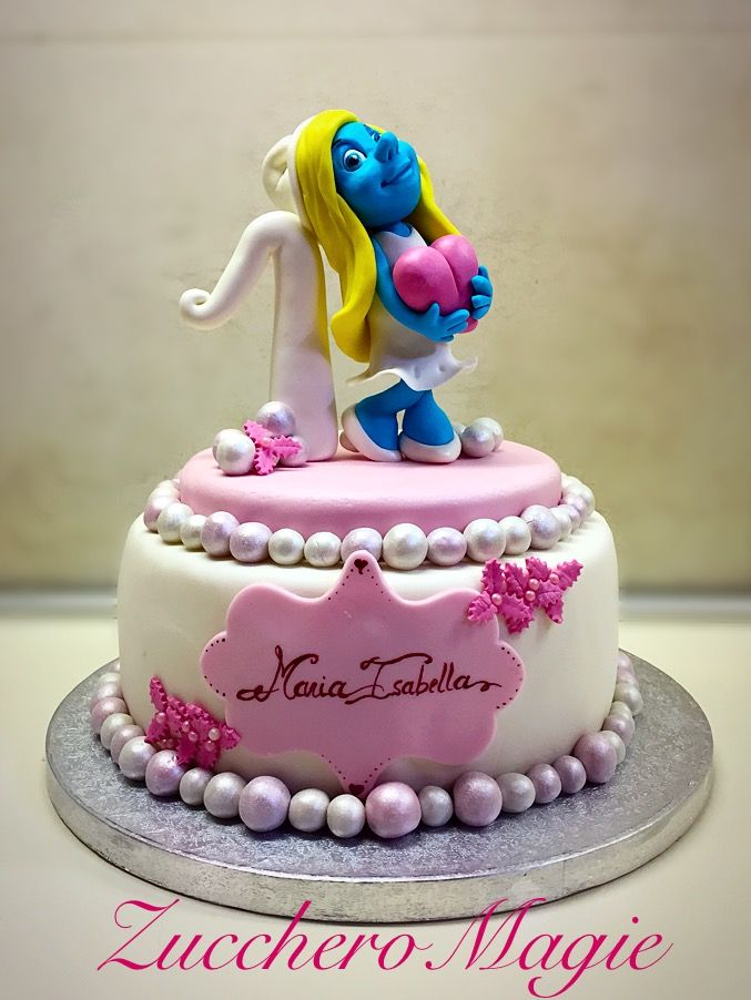 Puffetta ... First birthday cake