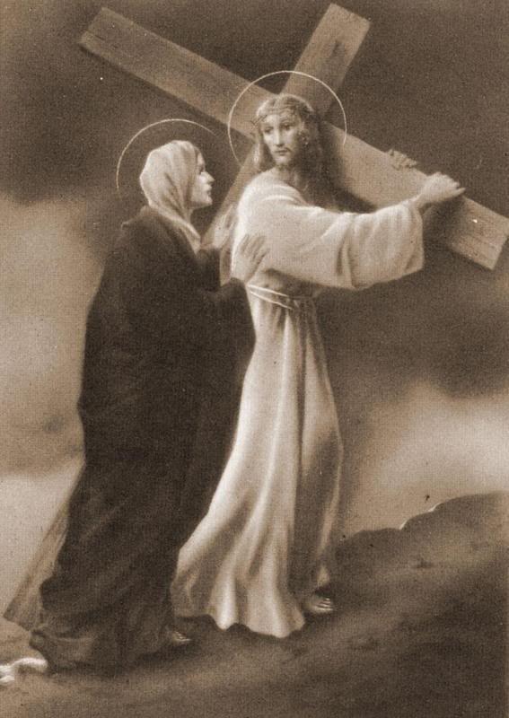 "Bunda Maria ""wanita"" EKARISTIS, Antara MARIA dan EKARISTI tak dapat dipisahkan. Demikian halnya Kristologi dan Mariologi."