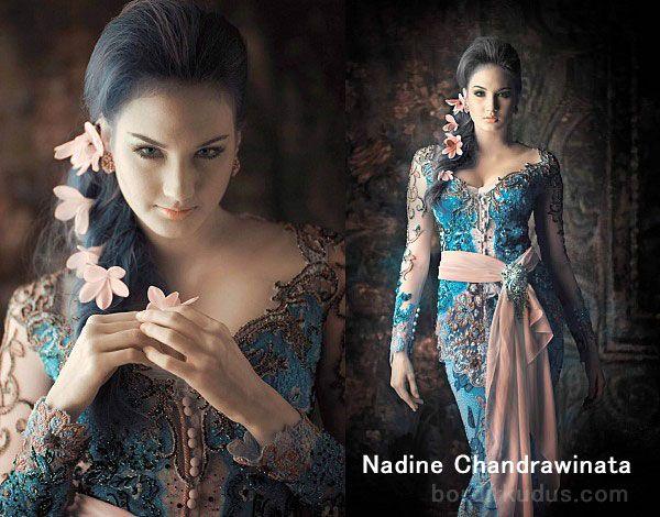 nadine-chandrawinata-kebaya-02 - http://www.bordirkudus.com/nadine-chandrawinata-dan-kebaya/