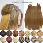 Halo Style Remy Human Hair Extension Elastic Invisible Wire Hair Extensions