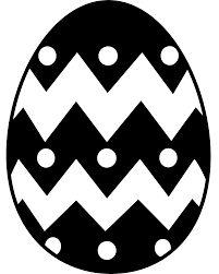 Easter Egg Clipart Black And White Wallpaper