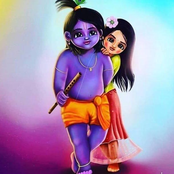 Finally I Got Sunitakanha Krishna Radha Painting Radha Krishna Art Cute Krishna Little krishna wallpaper cute radha