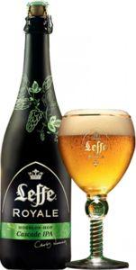 Leffe Royale Cascade IPA - Bierebel.com, la référence des bières belges