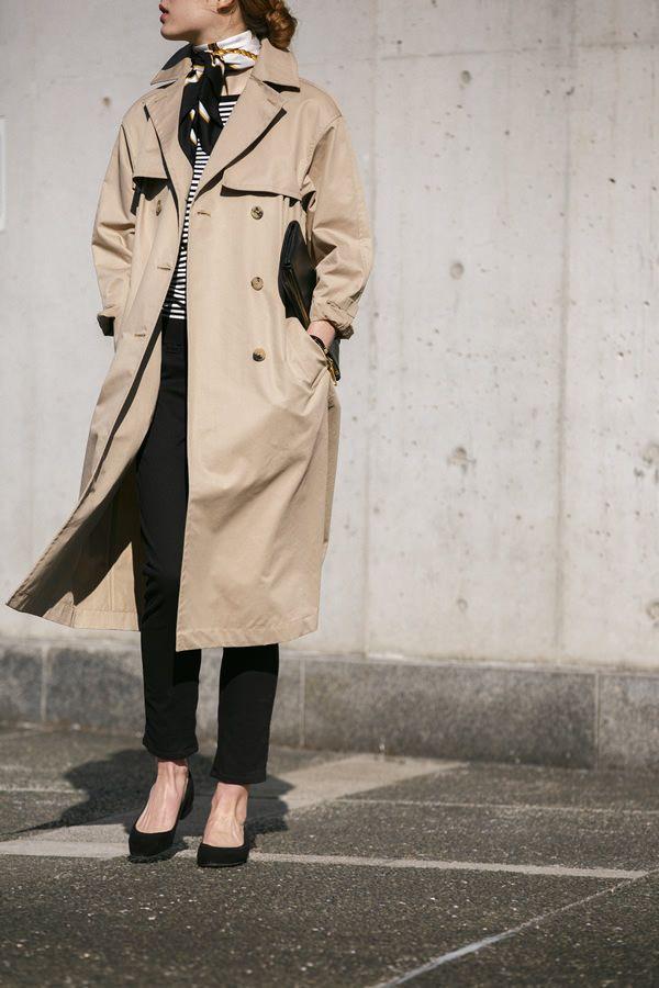 秋冬アウター計画はもうお済みストールジャケットコート着こなしカタログ                                                                                                                                                                                 もっと見る
