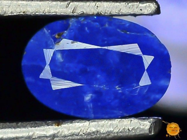 Rare 0.260 ct Natural Electric Blue Hauyne L.42 Collector's Gem