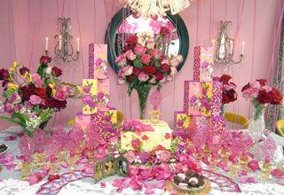 Betsey Johnson Bridal Shower Decor