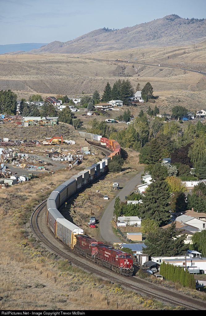 RailPictures.Net Photo: Canadian National Railway GE ES44AC at Savona, British Columbia, Canada by Trevor McBain