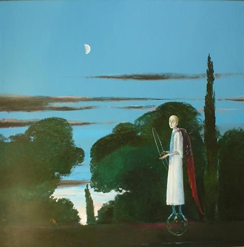 The Moon and the Poet - Stefan Caltia