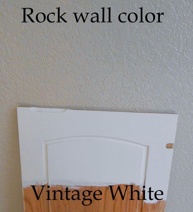 Using Chalk Paint for Oak Kitchen Cabinets (test door)