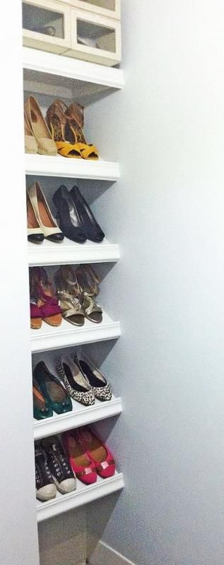 ideas about shoe shelves on pinterest shoe racks closet and shelves
