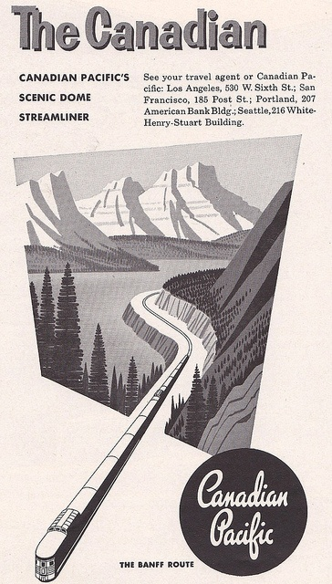 Canadian Pacific Ad 1958