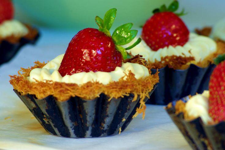Ταρτάκια με φράουλες