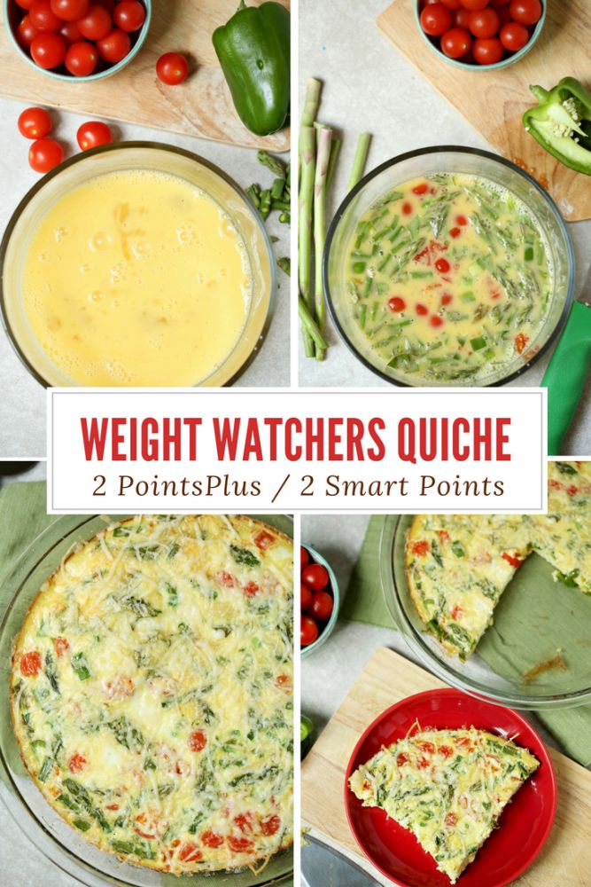 Weight Watchers Quiche