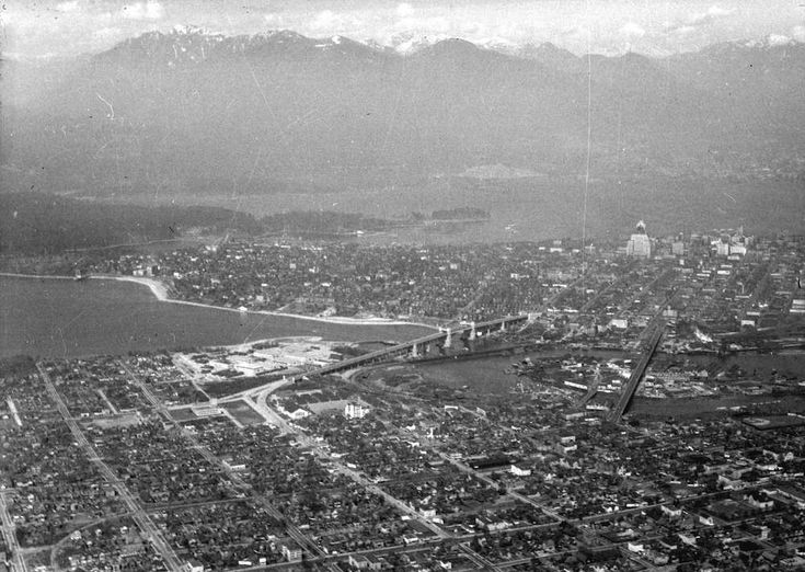 Old Aerial Photo of Vancouver AV-14