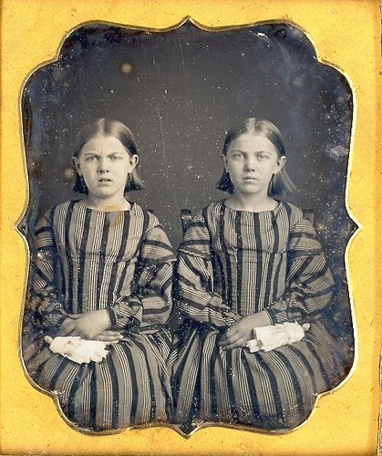 Twins with twin dolls by Mirror Image Gallery, via Flickr