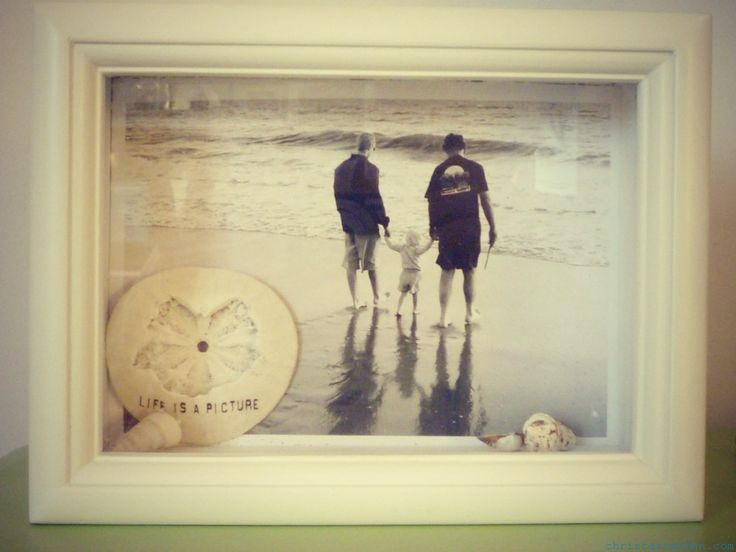 Easy shadow box project- can be done in less than half an hour