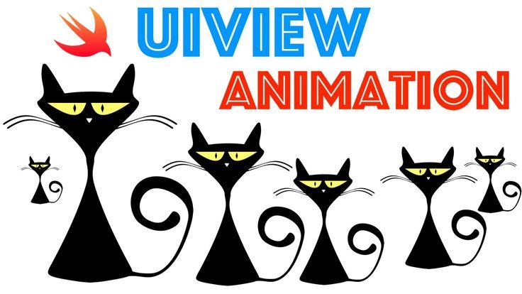 Swift Programming Language Tutorial:  UIView Animation Basics: animateWi...