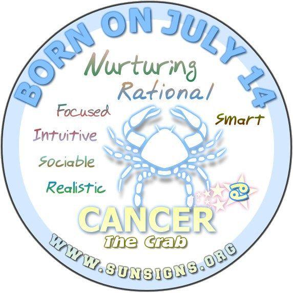July 14 Birthday Horoscope Personality » Sun Signs