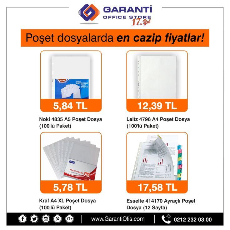 Ofis ihtiyaçlarının başında gelen şeffaf poşet dosyalar en avantajlı fiyatları ile GarantiOfis.com'da!  #posetdosya #seffafdosya #foydosya #garantiofis #ofismalzemleri #kırtasiye #ofiskırtasiye