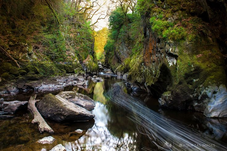 Fairy Glen, Betws-y-Coed (Wales, UK). #wales #cymru #betwsycoed #nikon #fstoppers #landscape #landmark #adamtas #photography #adamtasimages #photographer #fstop #longexposure #googlemaps #thomasheaton #locardi #shawphoto #nature