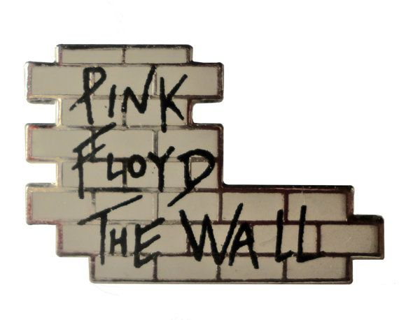 "vintage 1982 PINK FLOYD The Wall badge lapel enamel pin button official promo movie by VintageTrafficUSA  20.00 USD  A Rare vintage Pink Floyd pin dated from 1982! 1982 PINK FLOYD MUSIC LTD on back. Excellent condition! Measures: approx 1"" 30 years old hard to find vintage high-quality cloisonne lapel/pin. Beautiful die struck metal pin with colored glass enamel filling. -------------------------------------------- SECOND ITEM SHIPS FREE IN USA!!! LOW SHIPPING OUTSIDE USA!! VISIT MY STORE…"